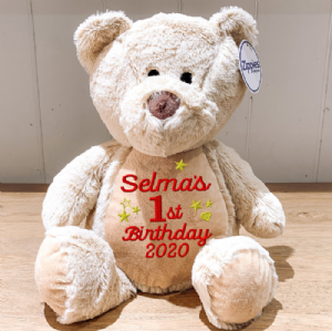 Personalised Birthday Teddy Bear